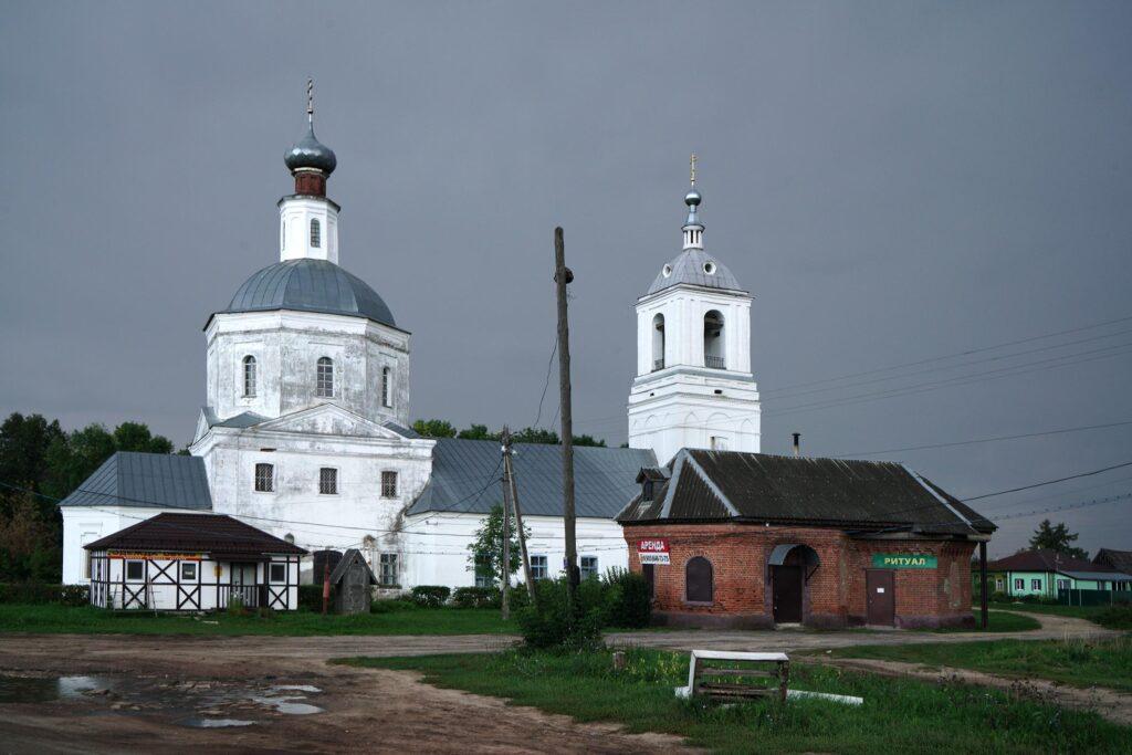Die alte Kirche in Moschok. Foto: © Frank Gaudlitz